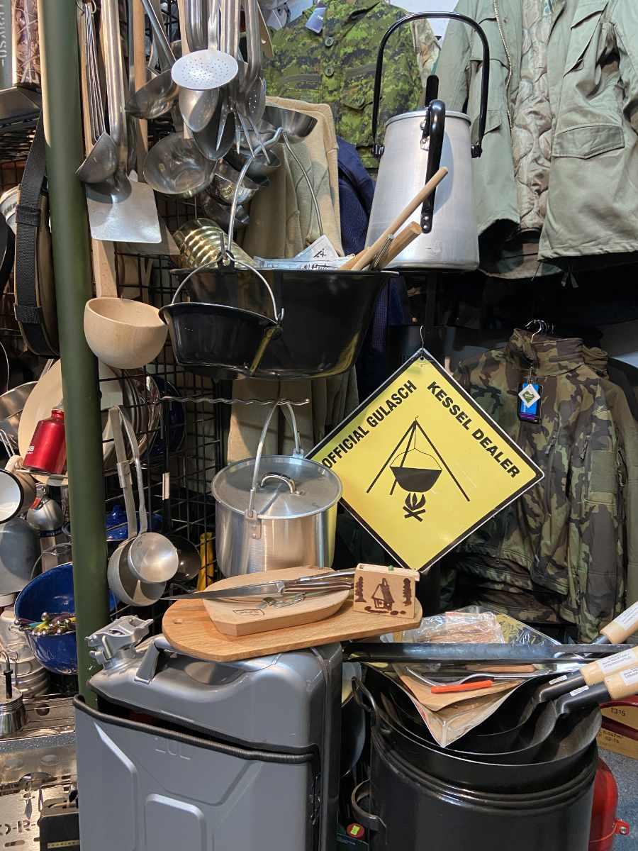 MTR Militärtechnik - unser Laden in Erding